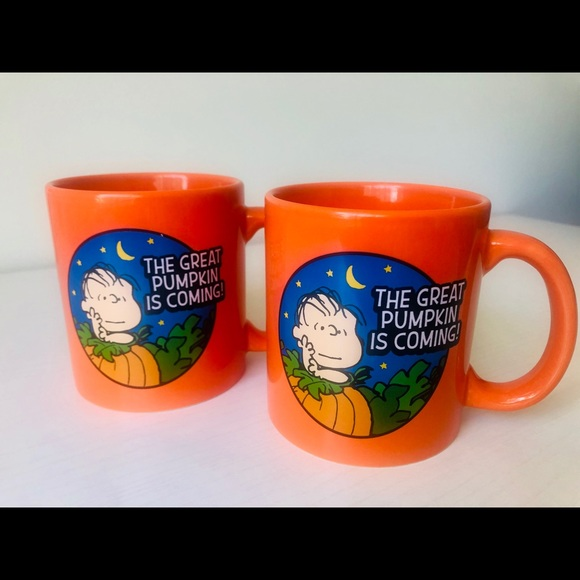 Peanuts Other - SET OF 2 CUPS 2019 PEANUTS HALLOWEEN